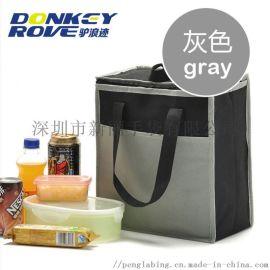 厂家定制冷藏便当午餐包加厚铝箔保温袋户外露营野餐包