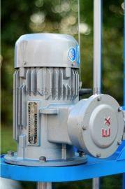 腻子粉高速分散   7.5w电动升降防爆电机   变频调速剪切涂料分散机