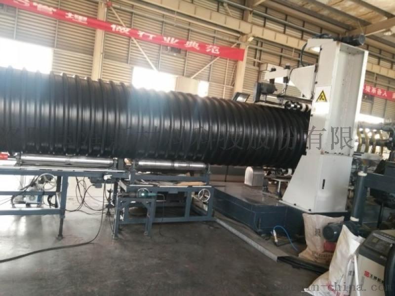 耐腐蝕鋼帶波紋管 排污鋼帶增強螺旋波紋管