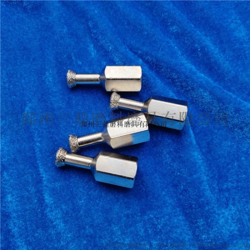 電鍍式金剛石背栓鑽頭M6M8石材背栓鑽頭背栓開孔器