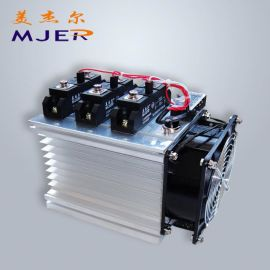 工业固态继电器带散热器套装 散热片 H3100ZF 工业100A 固态继电器模块厂家直销 质保
