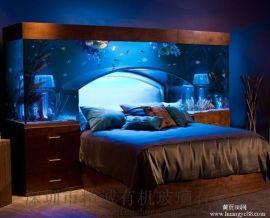 亚克力鱼缸定做厂家,亚克力鱼缸,大型亚克力鱼缸