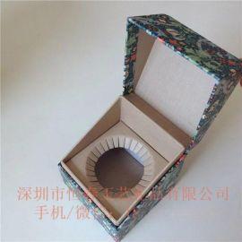 深圳龙岗区厂家定制翻盖精品盒 礼品盒 燕窝包装盒