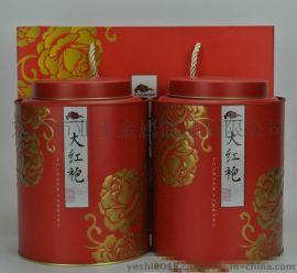 YESHI制造大红袍茶叶包装铁罐YS-CF65332
