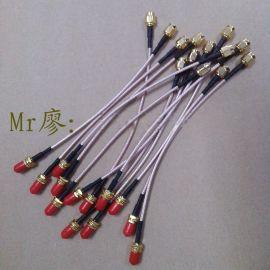 低损耗天线转接线SMA模块连接线射频线 RG316线材航模对接线