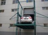 工廠室內外高層運輸貨物固定導軌鏈條升降機,簡易貨梯【濟南偉晨】