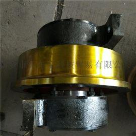 直径315单边起重机车轮组 卸煤机卸船机车轮组
