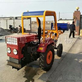 志成小型农用装载机拖拉机改装推土机