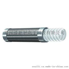 不锈钢丝编织波纹特氟龙管 TCS