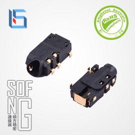 鍍金耳機插座2.5MM