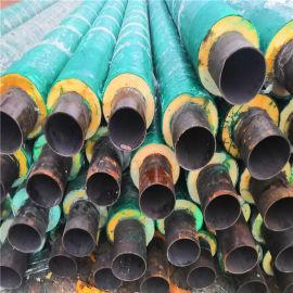 温州 鑫龙日升 黑夹克螺旋保温钢管dn125/133预制聚氨酯发泡管