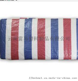 海象牌矿山专用彩条布 塑料布 三色布 180g