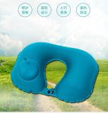 按压式充气U型枕旅行护颈枕