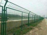 河道护栏网 区域防护网 浸塑铁丝防护网