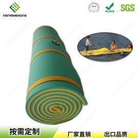 厂家定制水上漂浮水上魔毯XPE垫