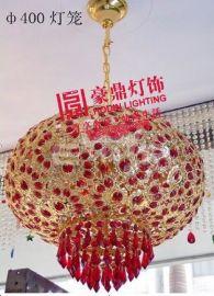 水晶红灯笼