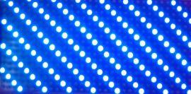 P10单蓝半户外单元板