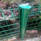 新款桃形柱绿化带围栏 园林防护网 0.6x2.5米 围墙围栏