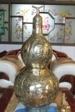 銅雕葫蘆,鑄銅葫蘆,銅雕工藝品