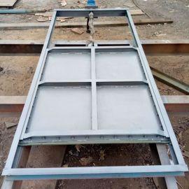 钢闸门 平面滑块钢闸门 平板定轮钢制闸门