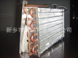 带加热管的铜管翅片式冷凝器蒸发器