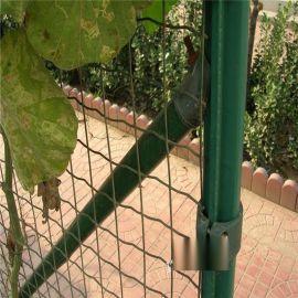 產地貨源散養雞鋼絲網 養殖圍欄網 綠包膠圈雞網