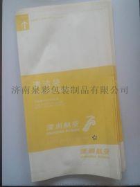 供应一次性纸质航空清洁袋