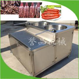 灌香肠机,腊肠灌肠机肉粒肠灌肠机,火山石烤肠设备