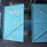乌兰浩特工地围墙防护网片    爬架网钢网