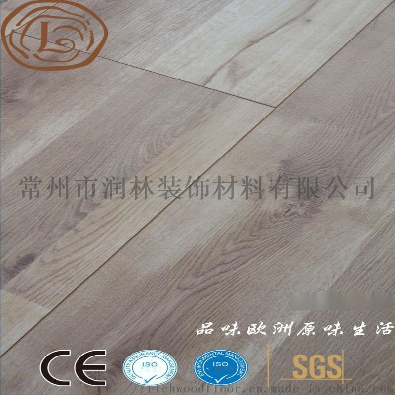 高耐磨同步对花强化木地板