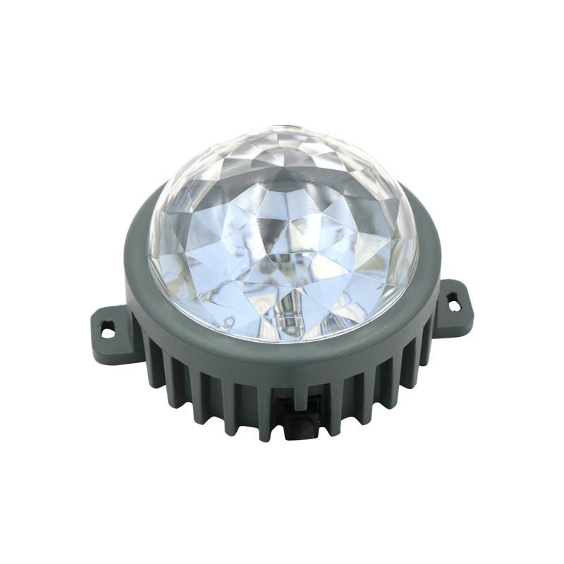 LED点光源DXM512车铝像素灯七彩跑马灯