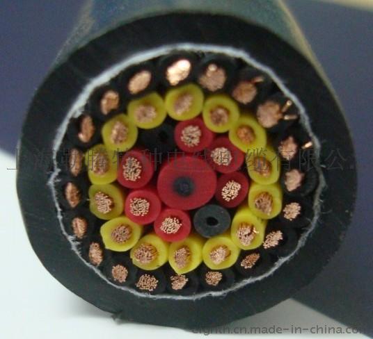 上海聚氨酯卷筒电缆聚氨酯防水耐油耐磨防腐蚀聚氨酯电缆