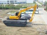 山東神鋼210-6e水陸挖掘機出租 水陸兩用挖掘機改裝