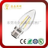 廠家直銷C35LED燈絲燈 LED360度鎢絲燈泡