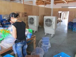 厂房通风降温设备 蒸发式冷风机 环保空调KT-20