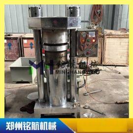 小型全自动液压榨油机 芝麻香油机 220V 流动香油机