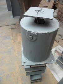 烟风煤粉管道支吊架-多种弹簧组合支架