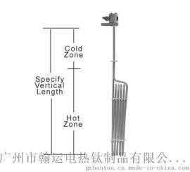 化工**溶液防腐蚀传热设备专用L型特氟龙加热器