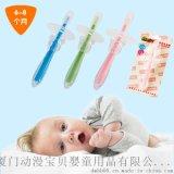 嬰幼兒訓練矽膠牙刷寶寶專用軟毛口腔護理乳牙牙刷