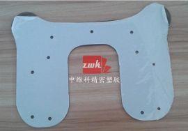 茶色PC板精密异形雕刻 各色塑料板各种形状精铣  非标钉子孔加工