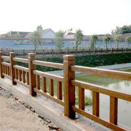 陕西省西安市  仿木护栏 仿大理石栏杆价格实惠