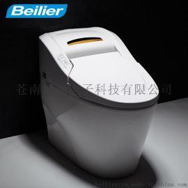 德国贝丽尔全自动智能马桶一体智能坐便器无水箱即热遥控感应除臭