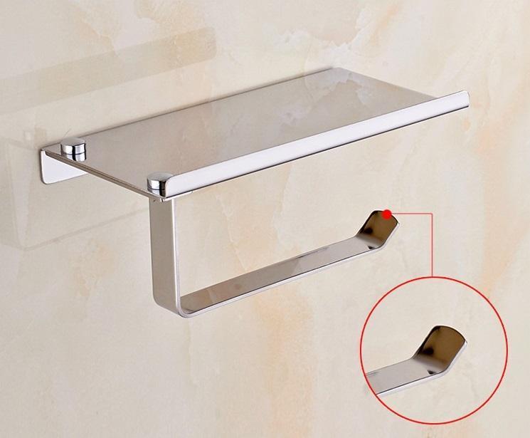 多功能置物架 衛浴五金掛件 不鏽鋼小捲紙架