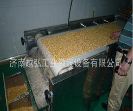 五谷杂粮低温微波熟化机械|即食五谷豆浆原料微波烘焙设备