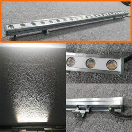 免胶LED洗墙灯24W、18W线形投光灯 LED轮廓灯