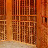長沙實木紅酒酒架