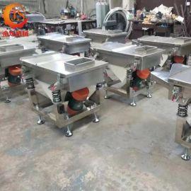 厂家直销方形不锈钢直线振动筛 小型电动筛粉机颗粒振动筛可定制