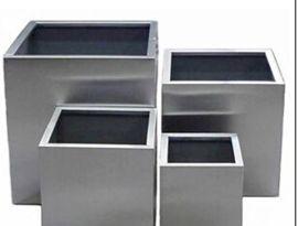 耐腐蚀落地式不锈钢花箱  201/304拉丝不锈钢花箱 景观组合式花箱