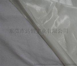 婴儿口水坚防水布加工 白色毛巾布复合乳白TPU防水透气膜