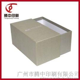 高挡银色纸盒子特种纸抽屉式礼品盒皮带包装纸盒抽屉盒批量印刷定做